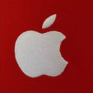 Apple Tops - Apple Employee T Shirt Short Sleeve Logo On Front